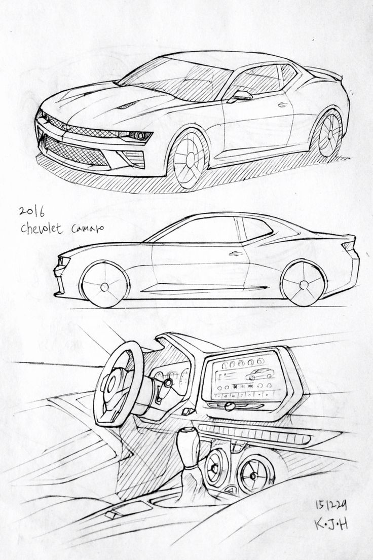 47 best images about daily car drawing on pinterest