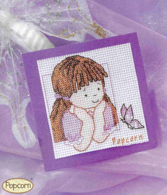 Popcorn Candyfloss Cross Stitch Card Shop Issue 55 July/August 2007 Saved