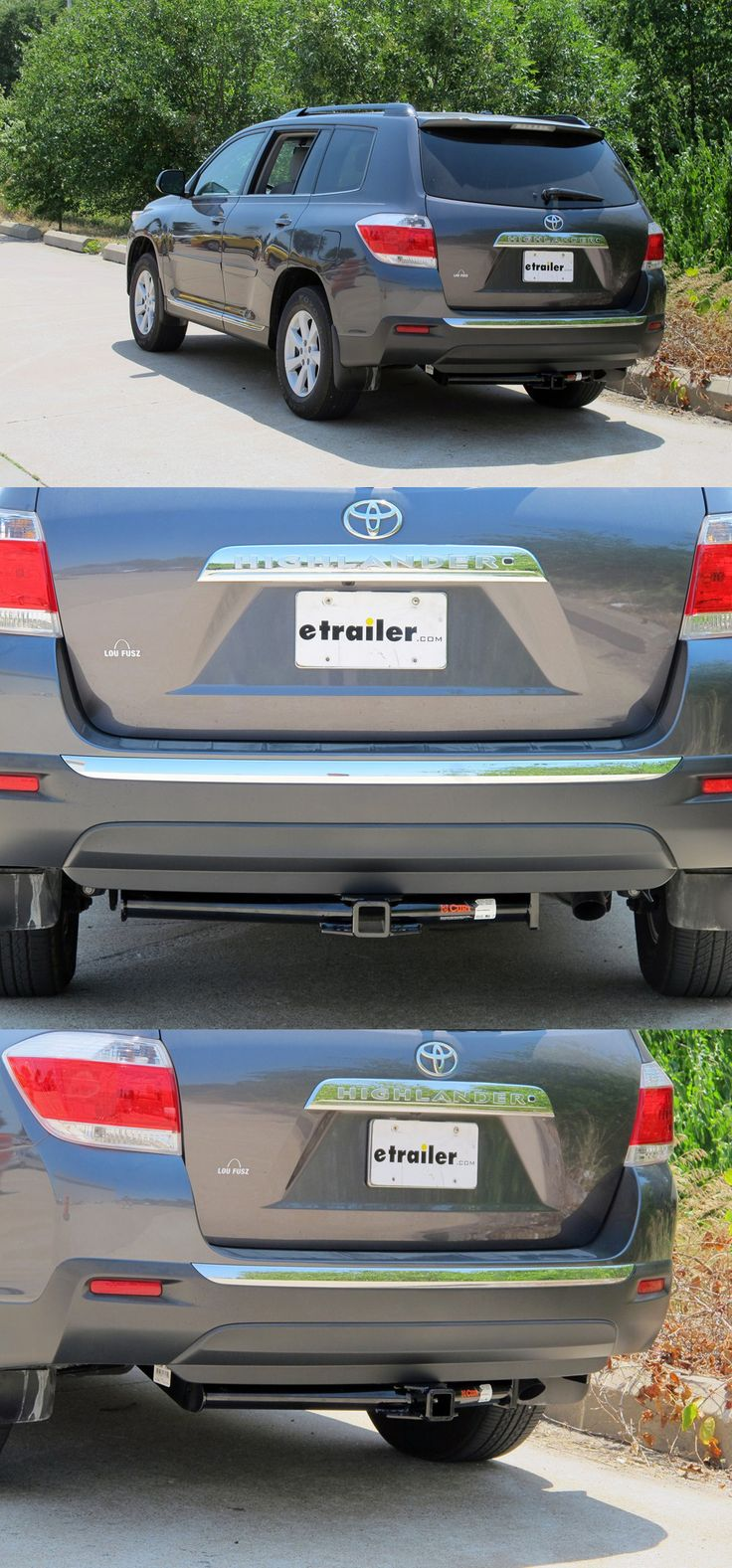 The 1 hitch for the toyota highlander fully welded trailer hitch receiver bolts onto