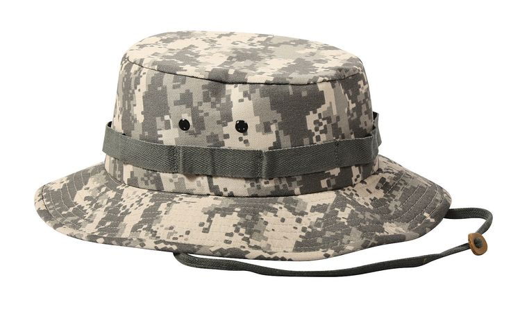Jungle Hats - Military Camouflage Jungle Hat All Sizes, All Colors, All Camo