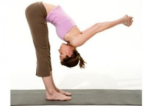 Yoga fix for bad posture- Standing Forward Bend Stand tall ...