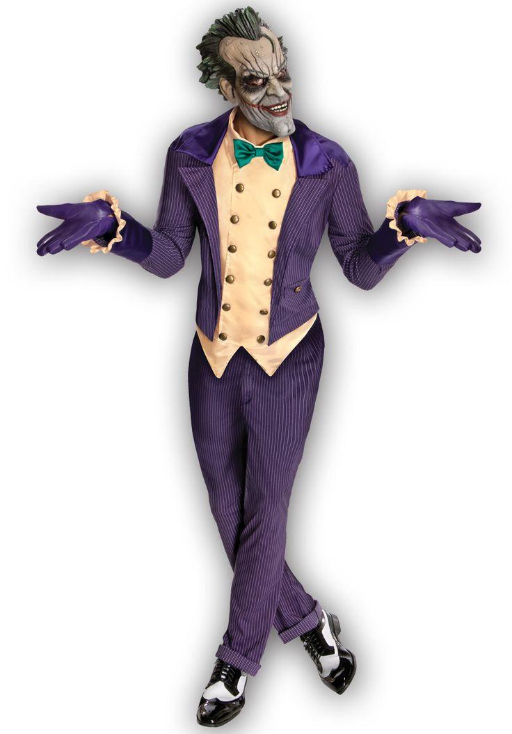 Joker Costume, Batman Arkham Asylum