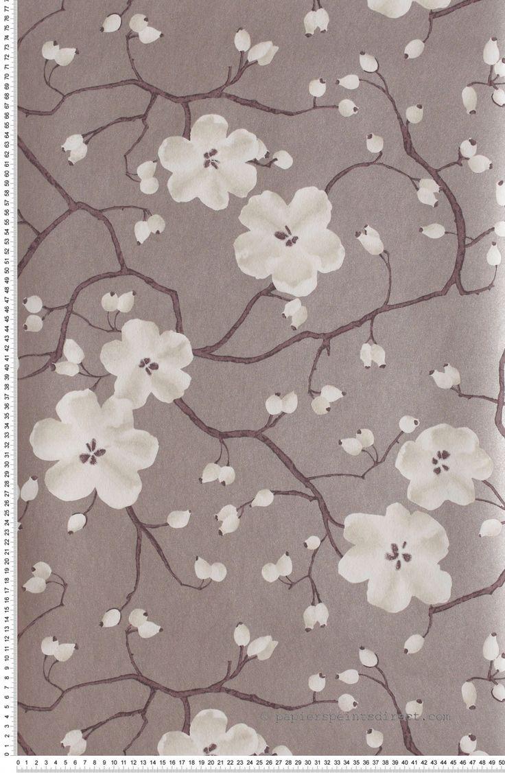 1000 id es sur le th me papier peint fleurs sur. Black Bedroom Furniture Sets. Home Design Ideas