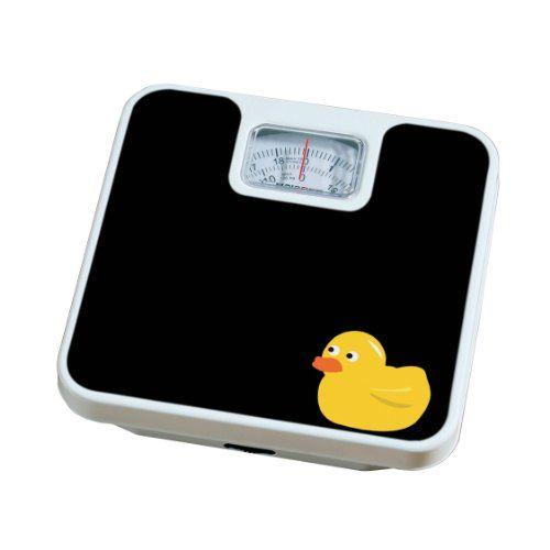 Premier Housewares Pèse-personne «canard»: Pèse-personne noir avec canard Capacité maximale : 120 kg Cadran mécanique rotatif Cet article…