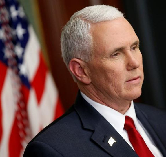 Com Vp Pence Used Private Email As Us Governor Report