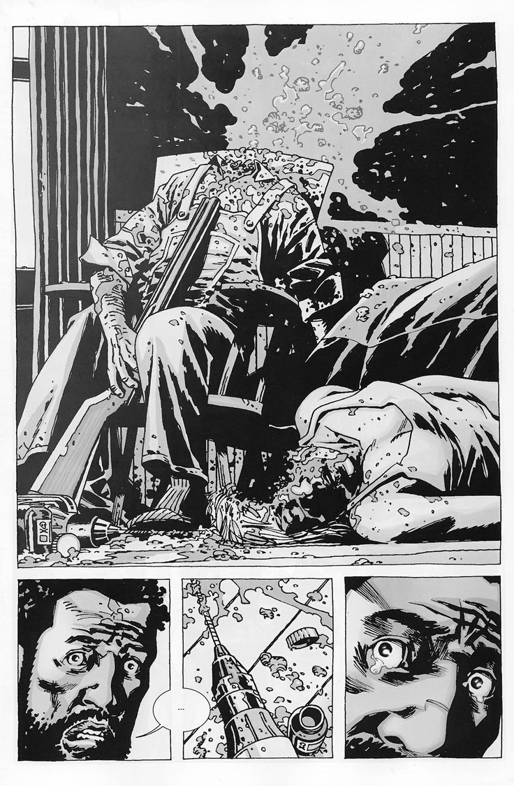 The Walking Dead Comic | Art | Pinterest | Posts, Walking ...