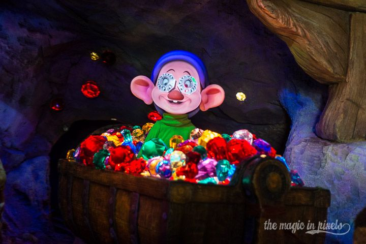 Dopey from the Seven Dwarfs Mine Train - The Magic in Pixels
