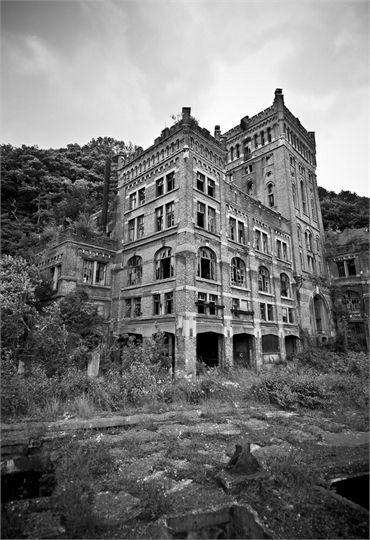 Hasard Cheratte, an abandoned coal mining complex in Belgium