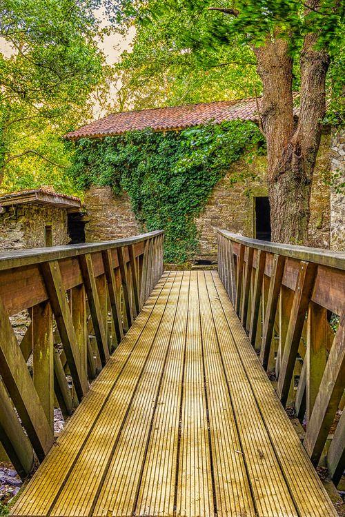 Bridge, Galicia, Spain photo via lovlie