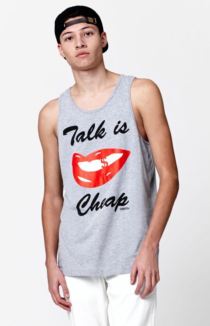 Talk Is Cheap Tank Top