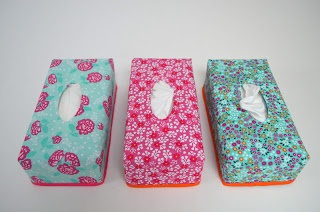 Tissue box cover. Link to tutorial.