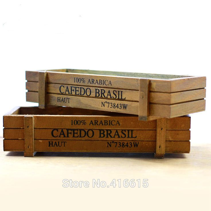 Старинные деревянные ювелирные изделия ящик для хранения рабочего косметическая коробка цветок садоводство суккуленты горшки купить на AliExpress