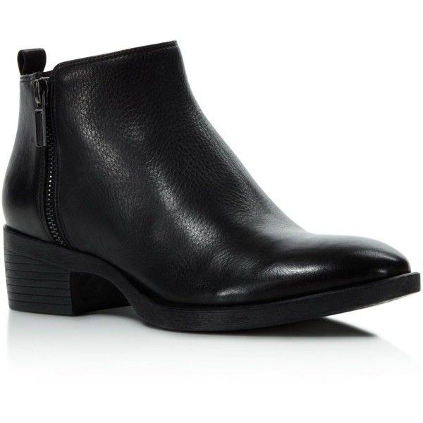 Best 25+ Low heel boots ideas on Pinterest   Ankle booties, Brown ...