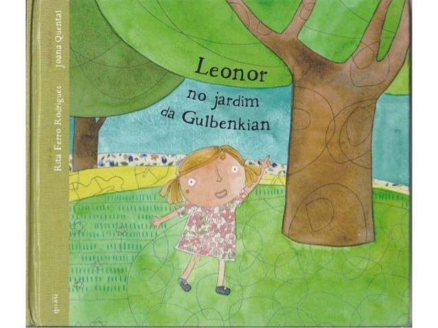 Leonor+no+jardim+da+gulbenkian