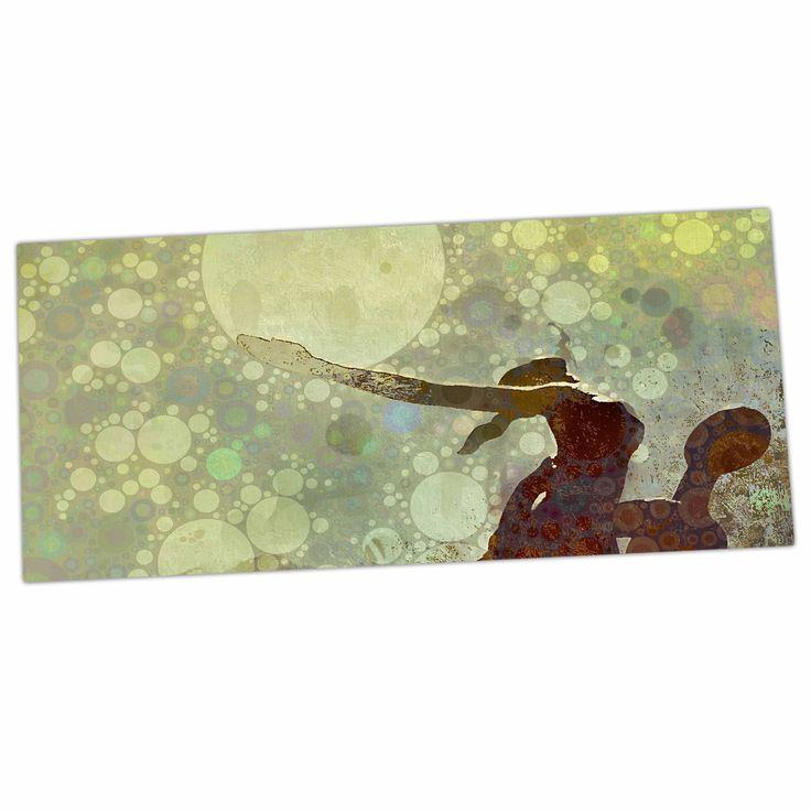 "AlyZen Moonshadow ""LIFT"" Green Brown Desk Mat"