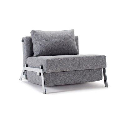 Poltrona letto Cubed trasformabile letto singolo design moderno