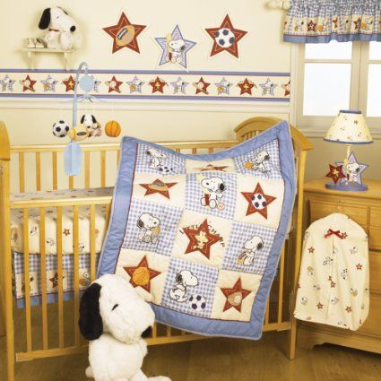 Bedtime Originals Champ Snoopy Baby Bedding Collection