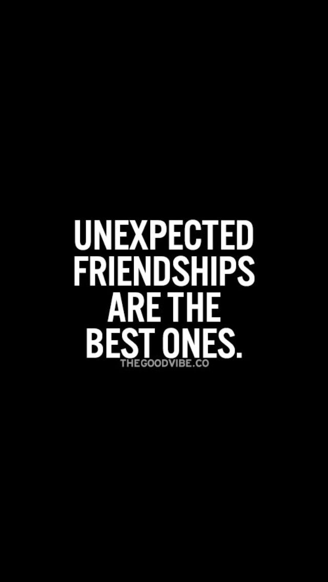 Quotes About Unexpected Friendship Mesmerizing The 25 Best Unexpected Friendship Quotes Ideas On Pinterest