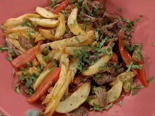 Lomo Salteado Peruano :: www.virginiademaria.cl