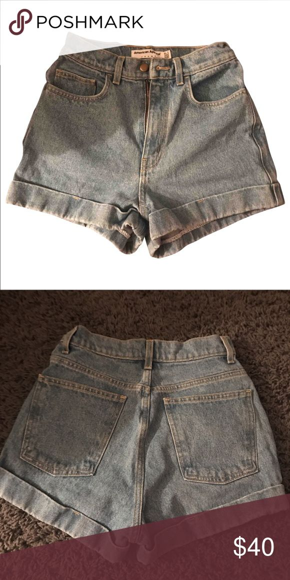 American apparel shorts Hardly worn. They do run small American Apparel Shorts Jean Shorts #runningapparel
