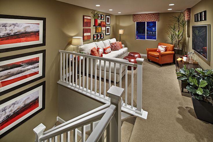 25 best ideas about upstairs landing on pinterest for Upstairs loft ideas