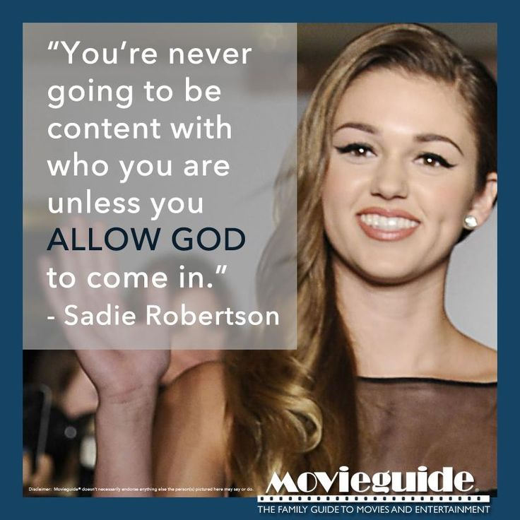 i love sadie robertson!