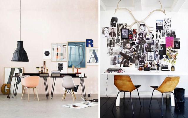 Las 25 mejores ideas sobre escritorio de dos personas en for Como decorar una oficina de trabajo