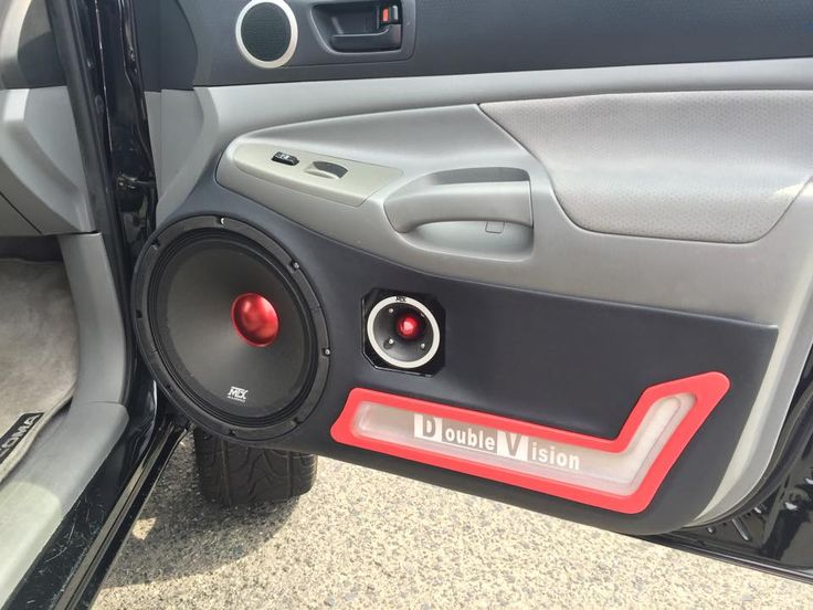 Roadthunder Extreme In A Custom Built Door Panel Mtxaudio Car Audio Pinterest