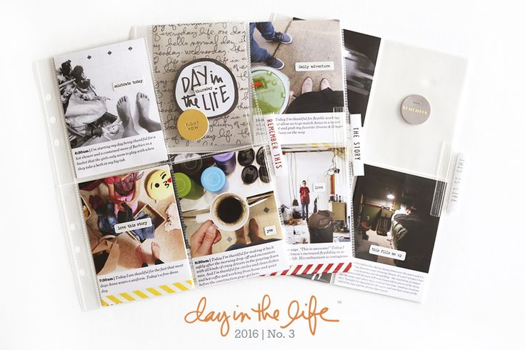 Day In The Life™ | October 2016 | Ali Edwards | Bloglovin'