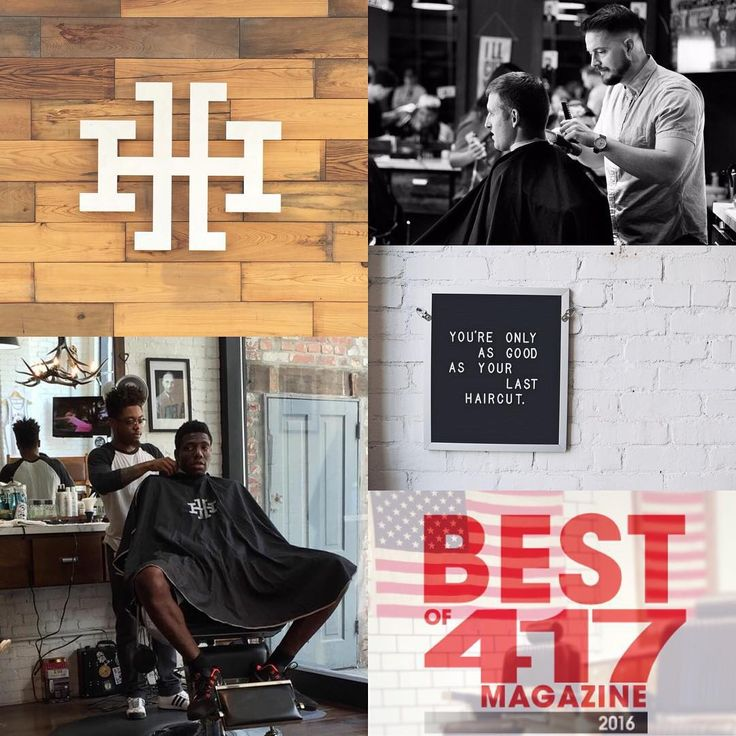 Only a few days left to vote HH for Best Barber Shop and @studio417salon Best Salon. We appreciate your support. Link to vote is in our bio. #staysharp #417bestof #barber #barbershop #menstyle