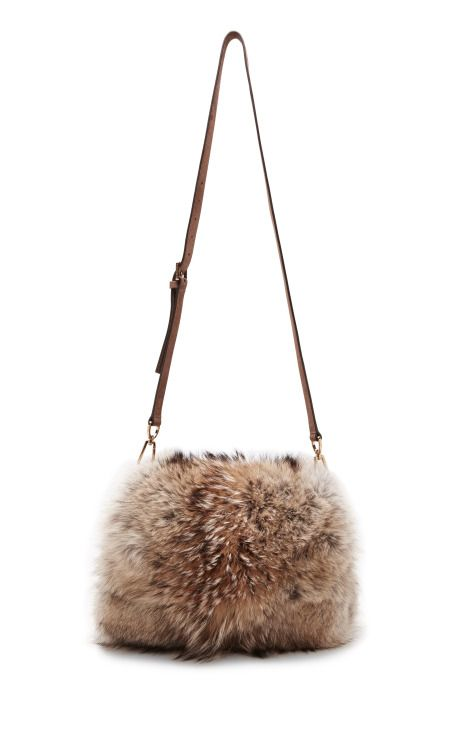 Tory Burch Fall 2014 Fur Muff on Moda Operandi