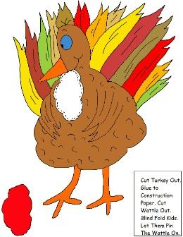 Pin The Wattle On The Turkey Game: Thanksgiving Crafts, House Crafts, Turkey Crafts, Turkey Time, Puzzles, Pin, Turkey Games, Holidays Thanksgiving, Schools Crafts