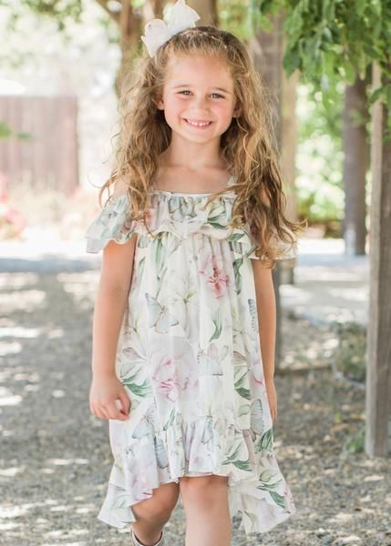 8b7ab1f2559 2019 Spring & Summer Isobella & Chloe Clovis High Low Maxi Dress in 2019 |  New At Jen;s Kids Boutique | Casual summer outfits, Dresses, Summer dresses