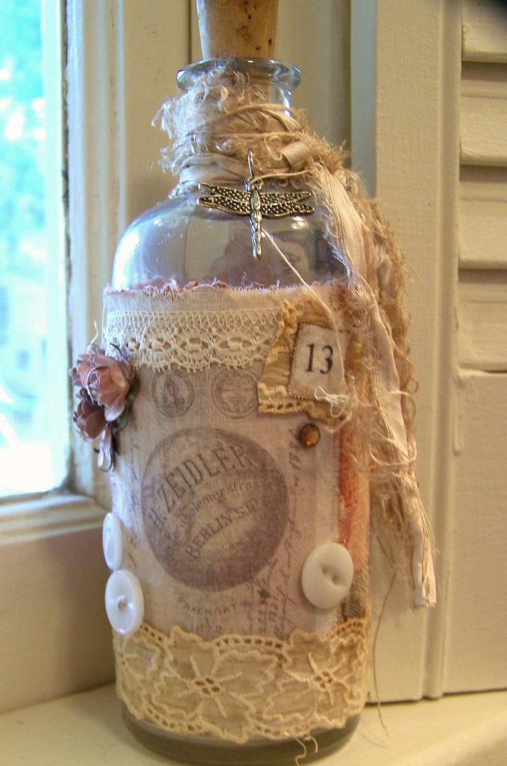 Vintage French Bottle