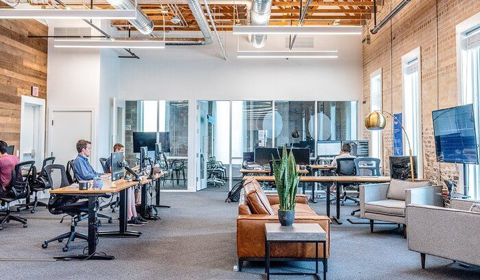 Definitions A Flexible Adaptable And Informal Organizational Structure Without Bureaucratic Policies Or Pro Virtual Office Office Design Shared Office Space