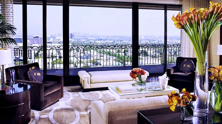 "The Beverly Wilshire Hotel's penthouse suite named one of the world's ""10 Most Unbelievable Hotel Suites!"""