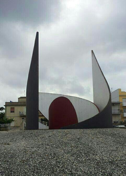 Gibellina, Nino Franchina, Labirinto, 1984