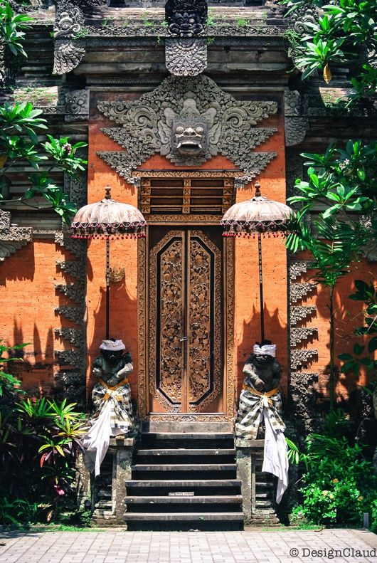 Inspiration: Where To Find It / Bali Architecture / Doors / Balinese Doors & 204 best Bali Doors \u0026 Entrances images on Pinterest   Windows ... Pezcame.Com