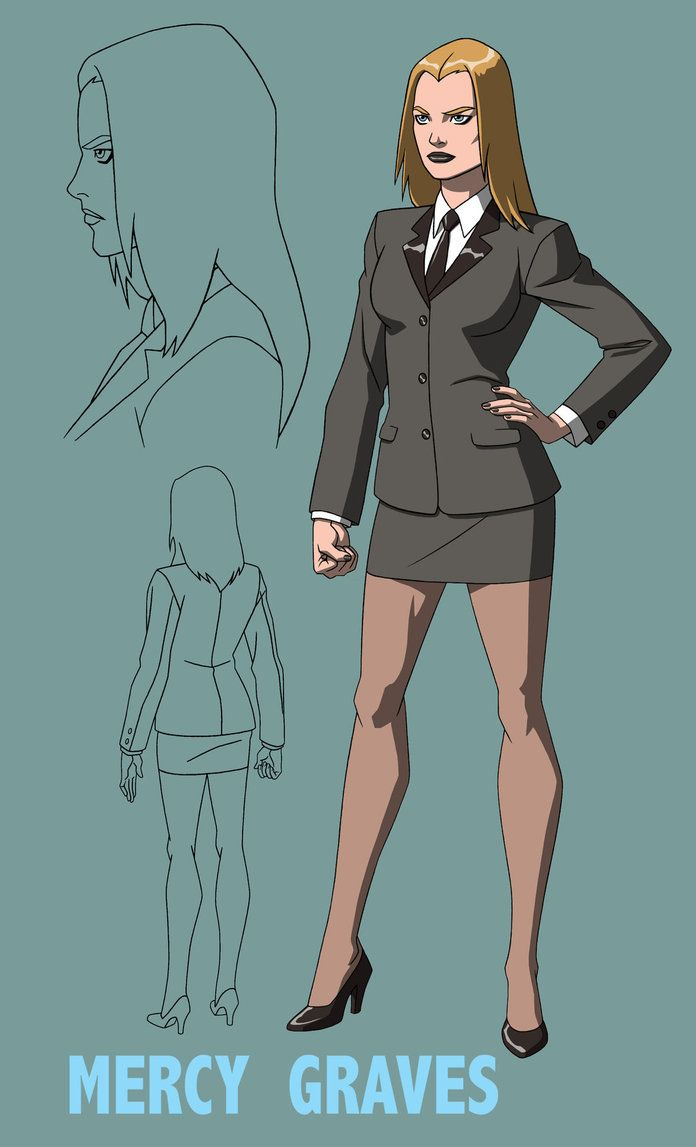 Mercy Graves (YJ) Initial Design