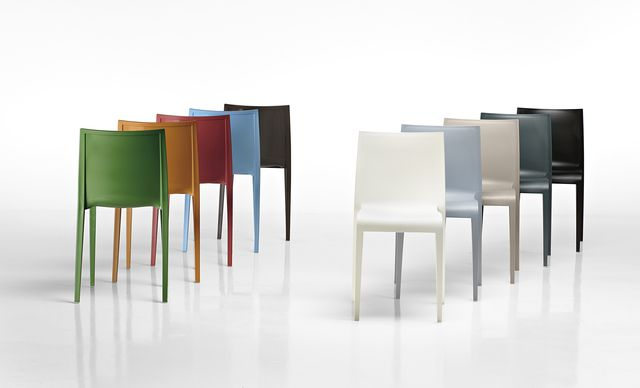 """""""In the crowded field of chairs Nassau stands out with its simple and elegant silhouette and that certain « je ne sais quoi ». Like some stylish ladies, unique amongst others and you can't really explain the reasons why.""""  Marc Sadler  Nassau is a one-piece chair in p…"""