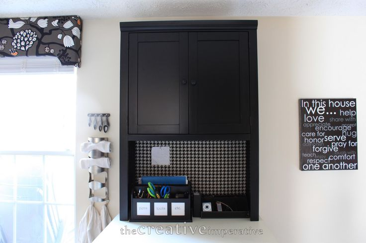 Natural Straight On Kitchen Organizer With Pinboard