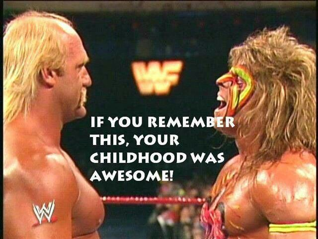 Hulk Hogan vs. The Ultimate Warrior