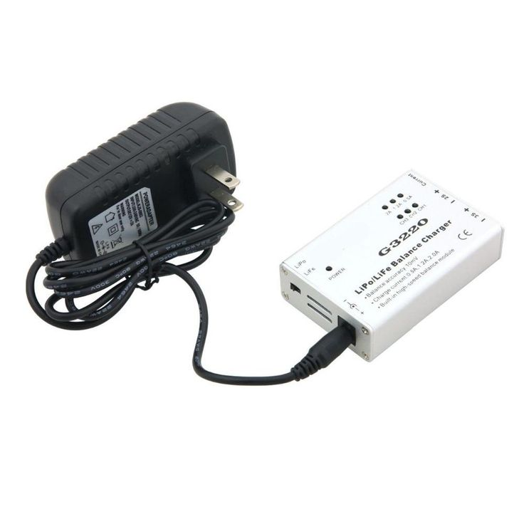 US Plug Speed Balance Charger Adapter for Parrot AR Drone 2.0 LiPo Battery G3220