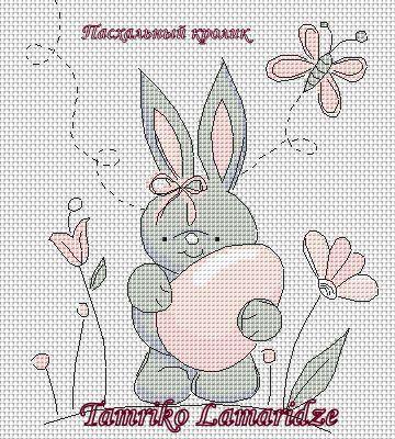 Gallery.ru / Пасхальный кролик - Схемы для различных проектов - tamriko-lamara