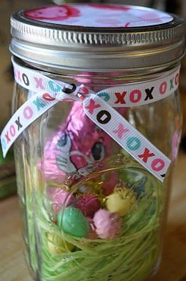 102 best easter spring in a jar images on pinterest easter ideas easter mason jarsoh the possibilities especially with the smaller jars negle Image collections