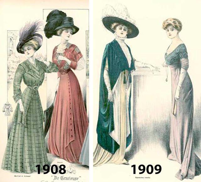 Moda 1910 e o Feminismo | História da moda, Moda antiga, Moda brasileira