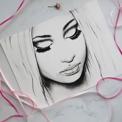 Just added my original 9 x 12 drawing of Nicki Minaj to my Etsy and prints & other artsy goodies are...