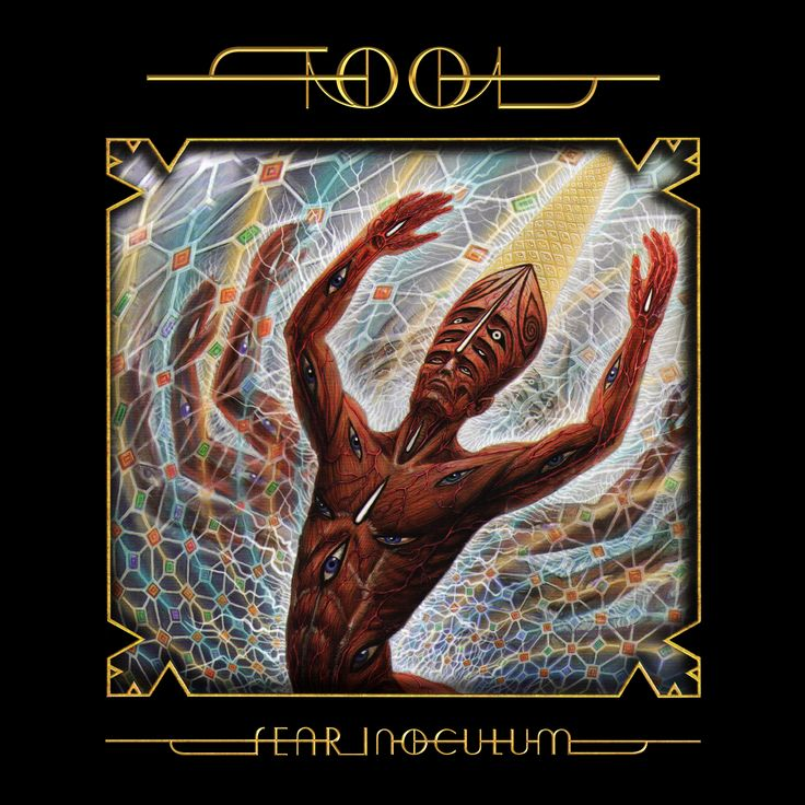 Tool Fear Inoculum Tool band artwork, Tool band art