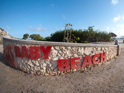 Baby Beach in Aruba : Aruba Beaches