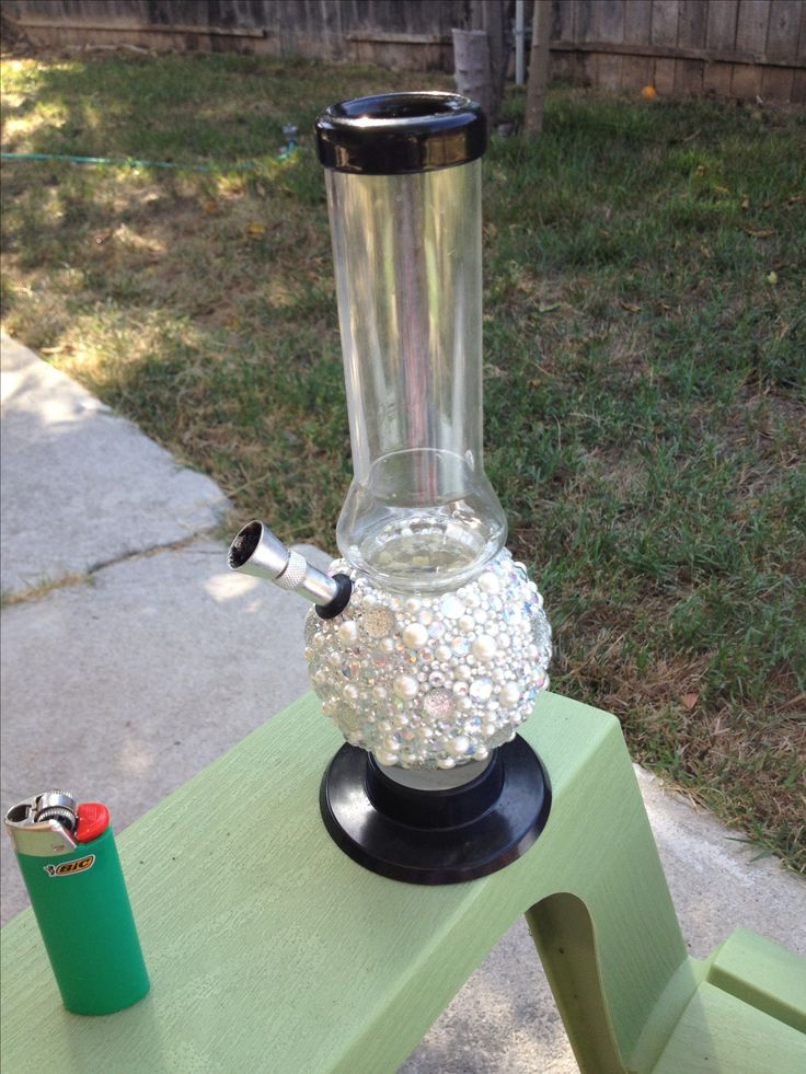 Bedazzled bong